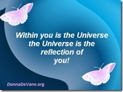 Universe within you